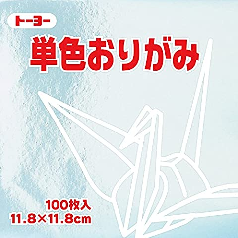 Toyo Origami Paper Single Color - Silver - 11.8cm, 100 Sheets