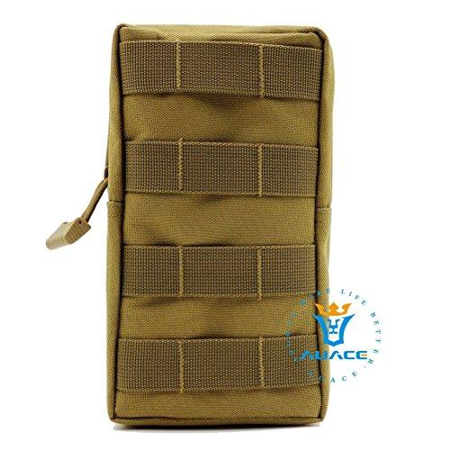Multifunktions Survival Gear Tactical Beutel MOLLE Beutel Tactical Everyday Tragetasche, Outdoor Camping tragbar Handtaschen Taille Bag Werkzeugtasche Travel Handy Tasche KH