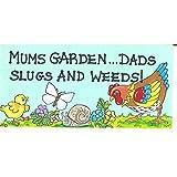 Something Different Gartenschild mit witziger Aufschrift (Einheitsgröße) (Bunt)