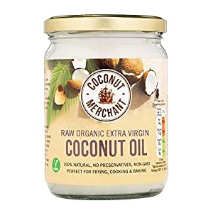 Huile de noix de coco - 500 ml Huile de noix de coco biologique extra vierge et non raffinée