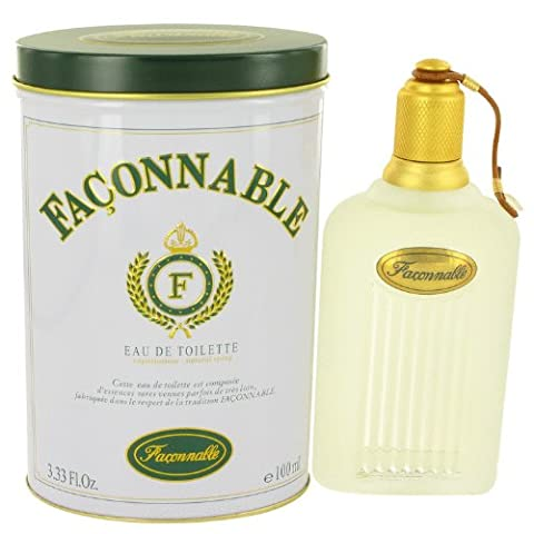 Faconnable By Faconnable For Men. Eau De Toilette Spray 3.3 oz by Faconnable BEAUTY (English Manual)