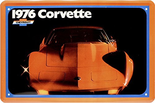 chevrolet-corvette-1976-us-car-auto-cartel-de-chapa-20-x-30-retro-chapa-1824