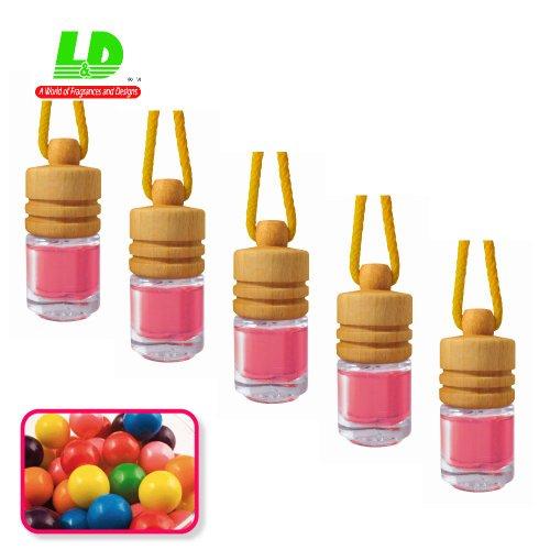 5-unidades-aroma-frascos-elegante-para-el-auto-bubblegum-chicle-25-ml-5596-eur-100ml