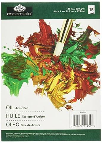 Royal & Langnickel RD361 Bloc d'Artiste Couleurs à l'huile