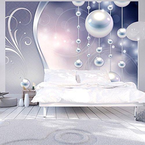 murando - Fototapete 350x256 cm - Vlies Tapete - Moderne Wanddeko - Design Tapete - Wandtapete - Wand Dekoration - Abstrakt Ornament Perlen f-A-0170-a-d