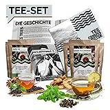 Set Degustazione Tè l diversi tè dal mondo l Confezione regalo speciale | 10x25g Tea World Trip Idea regalo Set | Confezione regalo scatola regalo compleanno natale