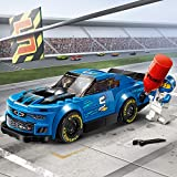 LEGO-La Voiture de Course Chevrolet Camaro ZL1 Speed Champions Jeux de Construction, 75891, Multicolore