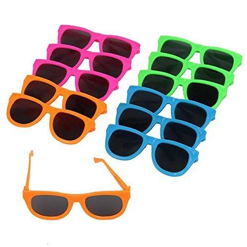 Tolle Spielzug Neon Farbig Party Sonnenbrillen-12 (D231)
