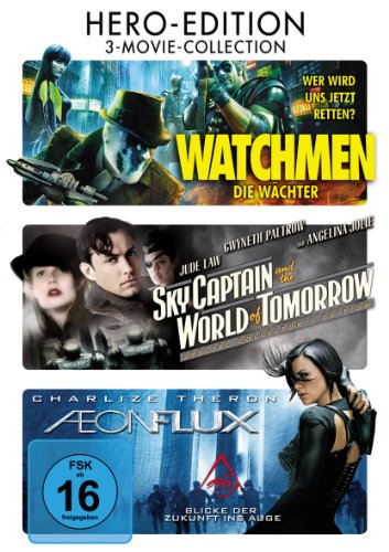 Aeon Flux / Sky Captain And The World Of Tomorrow / Watchmen - Die Wächter [3 DVDs]