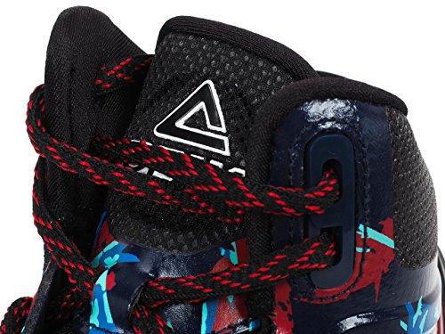 Peak - Tp 3 tony parker - Chaussures basket Blue / Red