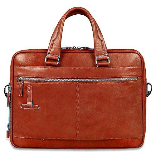 Cartella Piquadro Blu 15 Con Scomparto Per Laptop, Nero - Ca2849b2 Arancione