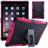 G-Shield Hülle für iPad Air 2 Stoßfest Schutzhülle mit Ständer - Rosa