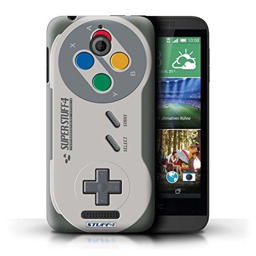 Kobalt® Imprimé Etui / Coque pour HTC Desire 510 / Playstation PS3 conception / Série Console (jeux vidéo) Super Nintendo
