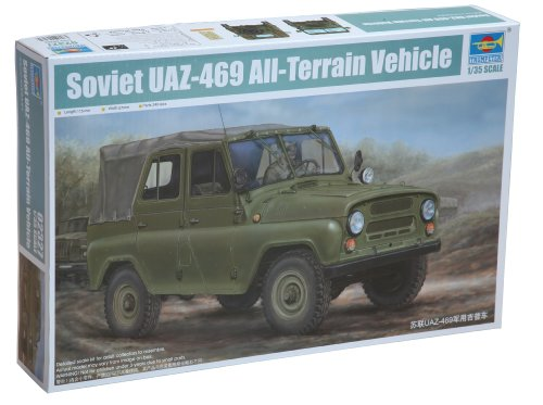 Trumpeter 02327 Modellbausatz Soviet UAZ-469 All-Terrain Vehicle