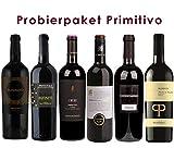 6 er Probierpaket Primitivo | Rotwein aus Apulien | 6 x 0,75 L.