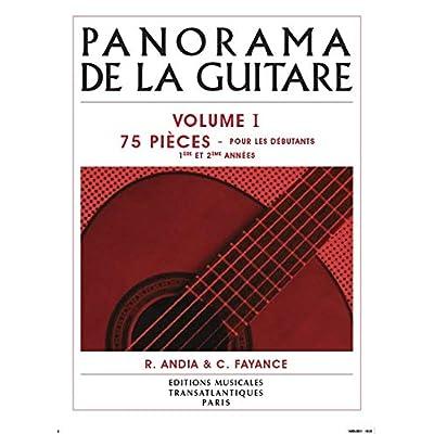 Le panorama de la guitare volume 1 +CD --- Guitare