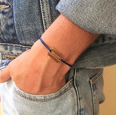 Bracelet Lame de Rasoir plaqué Or