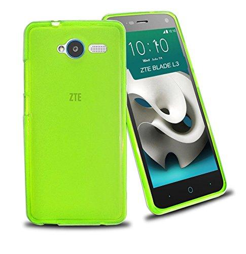 TBOC® Grün Gel TPU Hülle für ZTE Blade L3 Ultradünn Flexibel Silikonhülle