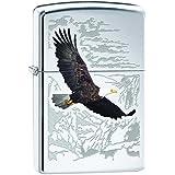 Zippo 60000581 Soaring Eagle Briquet Laiton High Polish Chromé 3,5 x 1 x 5,5 cm