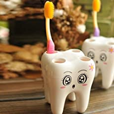 exciting Lives Plastic Tooth Brush Holder