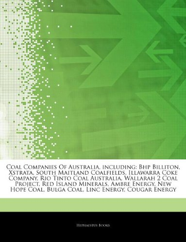 articles-on-coal-companies-of-australia-including-bhp-billiton-xstrata-south-maitland-coalfields-ill