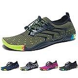 Madaleno Chaussures Aquatiques pour Homme Femme Chaussures d'eau Chaussures de Plage Chaussures de Yoga Plongée Surf Piscine...