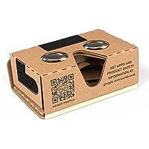 SainSmart DIY Virtual Reality 3d Google Glasses Cardboard Box V2para smartphones Android/iPhone