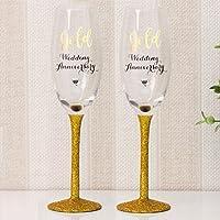 Suchergebnis Auf Amazonde Für Goldene Hochzeit Gläser