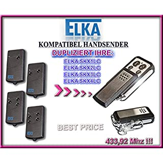 ELKA SKX1LC, SKX2LC, SKX3LC, SKX4LC kompatibel handsender, klone fernbedienung, 4-kanal 433,92Mhz fixed code. Top Qualität Kopiergerät!!!