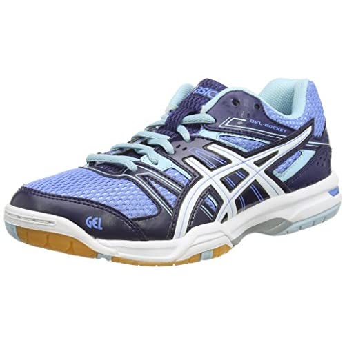 51ac0%2BsC7KL. SS500  - ASICS GEL-ROCKET 7 Women's Multi-Court Shoes (B455N)