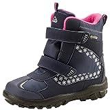 McKinley Snowtime AQX ISE Winterschuhe für Kinder Winterstiefel, Schuhgröße:35, Farbe:Navy Dark/Pink