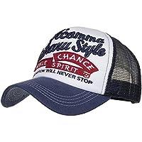 LMMVP Gorra de Béisbol de Malla Deportiva,Mujer Casual Gorra de Béisbol de Viajes Hats Hip-Hop Sombrero Sol al Aire Libre Tenis Deporte Golf Verano para Unisex Hombre Mujer (B)