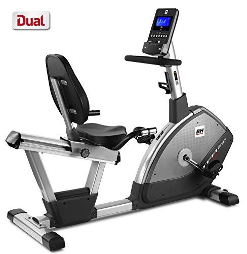 BH Fitness - Bicicleta estática reclinada TFR Ergo Dual