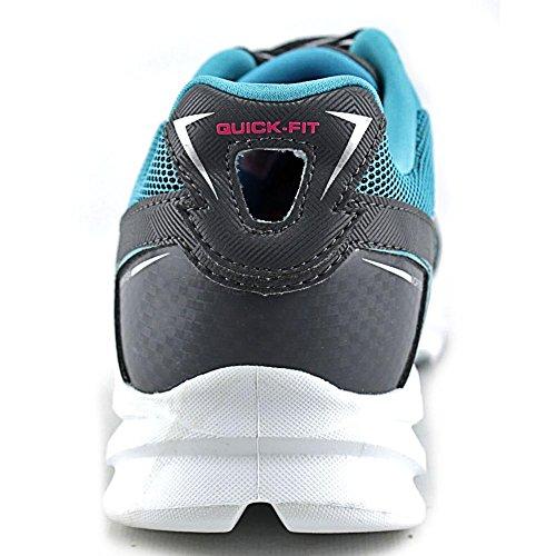 Skechers Go Run Vortex, Running Entrainement femme Charcoal/Blue