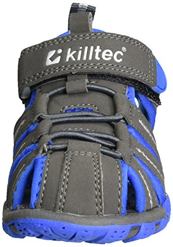 Killtec Jungen Marimba Jr Outdoor Sandalen Grau (Anthrazit)