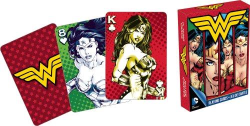 DC comics- Wonder Woman Spielkarten Deck (Deck Womens)