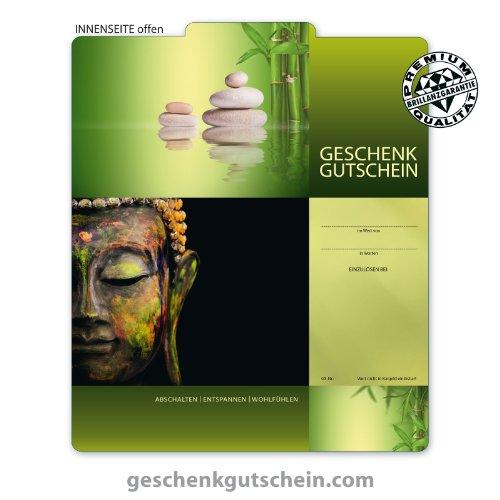 """10 Stk. Premium Geschenkgutscheine Gutscheine zum Falten""""Multicolor"""" für Physiotherapie, Wellness, Spa MA231, LIEFERZEIT 2 bis 4 Werktage!"""