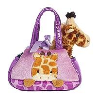 Aurora World 32768 Fancy Pal Peek-A-Boo Giraffe Plush Toy, Purple