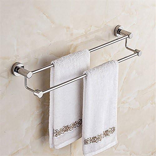 XPY-Towel rack Portasciugamani da bagno in acciaio inox portasalviette 304 portasciugamani portasalviette inox a doppio palo pendente 80 cm 3eac0d
