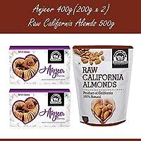 Wonderland Foods California Raw Almonds 500g & Anjeer 400g