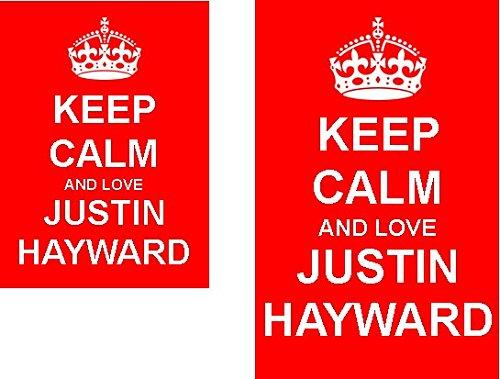 keep-calm-and-love-justin-hayward-2-sided-keyring-and-fridge-magnet-set
