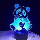La luce di notte del cavaliere 3D della bici di montagna 7 cambia la lampada da tavolo della tavola da tavolino 3D ventilatori di sport di fantasia per il regalo dei bambini del fidanzato X429## 7
