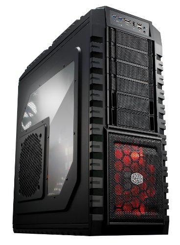 Cooler Master RC-942-KKN1-GP – Caja de ordenador de sobremesa (puerto eSATA, USB 2.0/3.0), negro