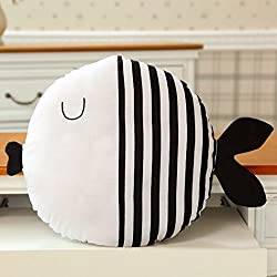 Juguete De Almohada Para Niños, outgeek CojíN De Juguete Cute Cartoon Fish Doll De AlgodóN Throw Pillow Toy
