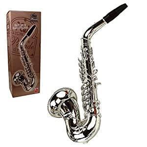 REIG Deluxe Saxophon (Silber)