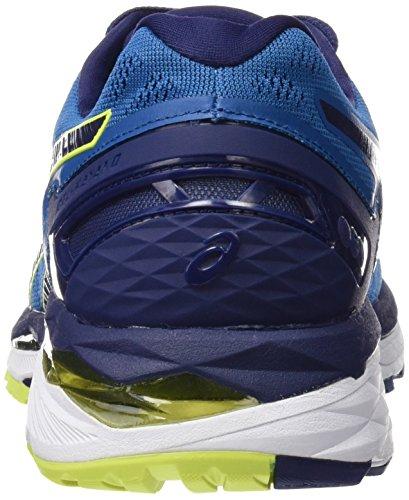 Asics T646n4907, Chaussures de Running Entrainement Homme, Bleu Bleu (Thunder Blue/Safety Yellow/Indigo Blue)