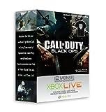 Xbox 360 - Live 12 Monate Goldmitgliedschaft - im Design von Call of Duty: Black Ops + T-Shirt