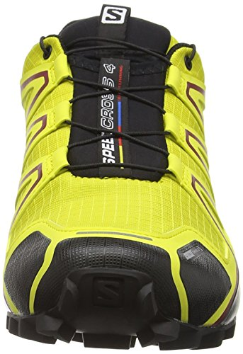 Salomon Herren Speedcross 4 Cs Traillaufschuhe Gelb (Alpha Yellow/CORONA YELLOW/Black)