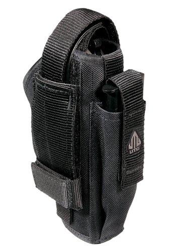 UTG Erwachsene Holster Deluxe Gürtelholster Beidhändig Taktisches, Schwarz, M (Holster Revolver)