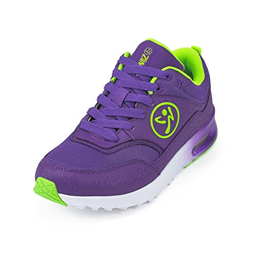 Zumba Footwear Air Classic, Scarpe da Fitness Donna, Blu (Purple), 40 EU